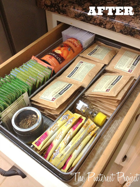 Tea & Coffee Station | The Pinterest Project