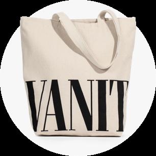 Vanity Fair tote