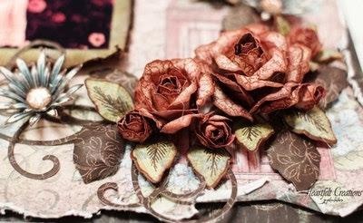 Vintage Floret Closeup