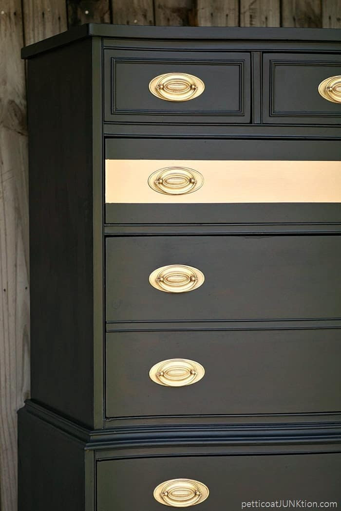 Add A Metallic Gold Stripe for Instant Glamour | Furniture ...