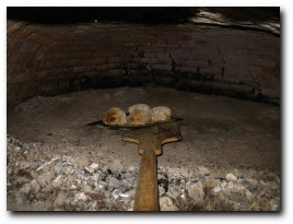 Au four à pain, Monacia, dimanche 13 mai 2007