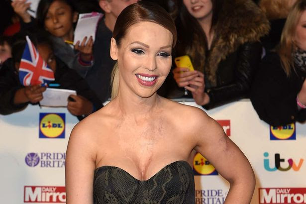 Katie Piper attends the Pride of Britain awards at The Grosvenor House Hotel on October
