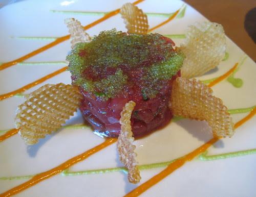 Asian Style Tuna Tartar