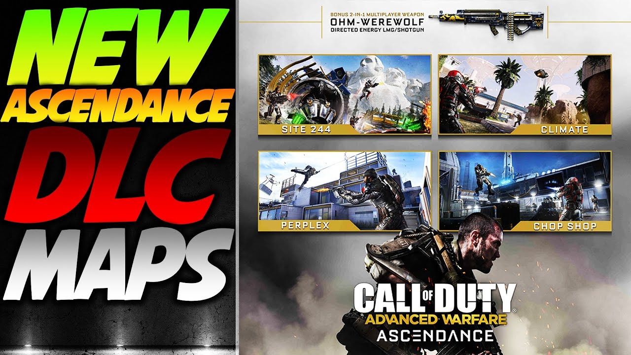 Call Of Duty Advanced Warfare Ascendance Map Pack 2
