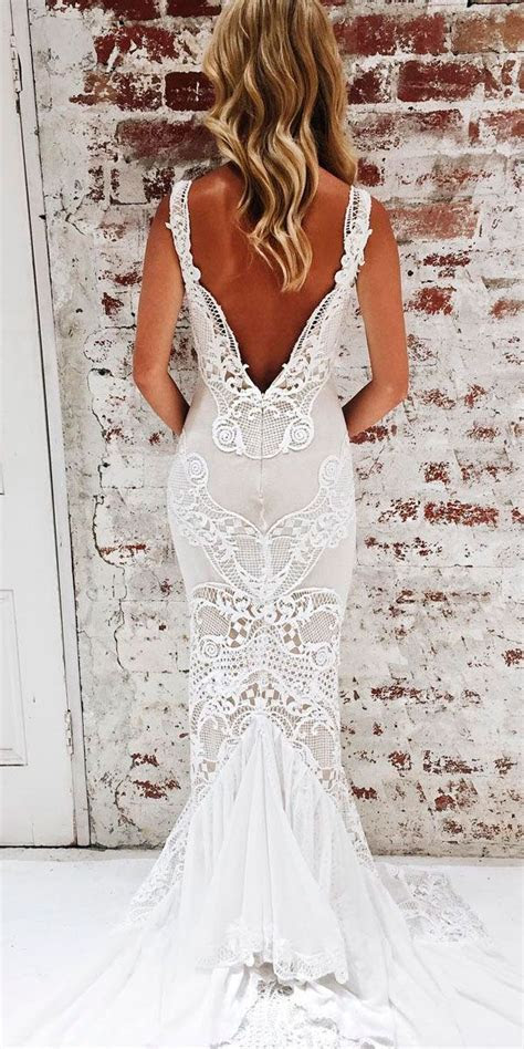 Best 25  Low back wedding gowns ideas only on Pinterest