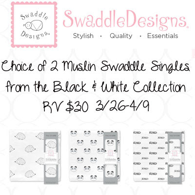 Swaddle Designs Muslin Single Swaddle Giveaway