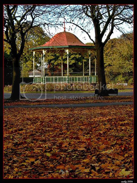 picture of band stand, West Park, South Shields
