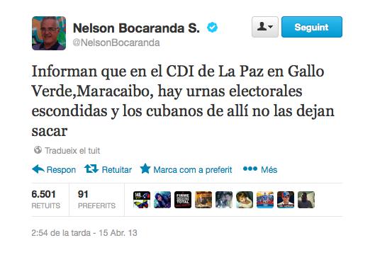 Nelson Bocaranda ordena ataques a centros médicos CDI