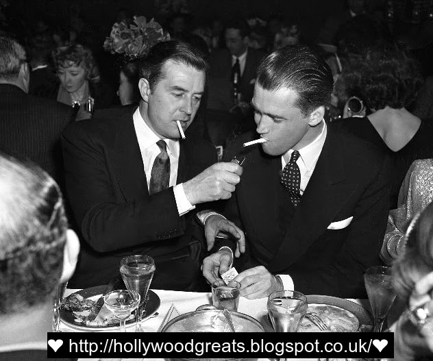 james stewart and ray milland have a fag