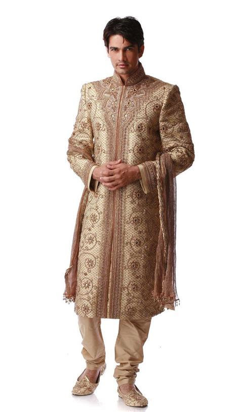 17 Best images about Wedding Sherwani on Pinterest   Groom