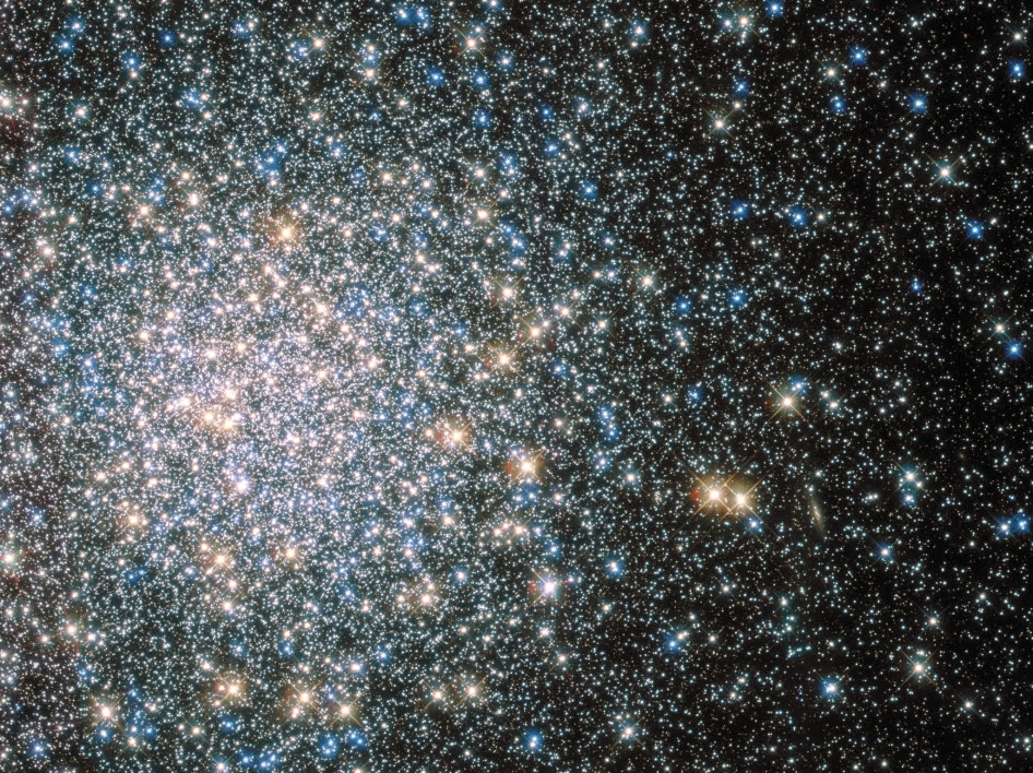 """""""Beautiful Nebula discovered between the Balance [Libra] & the Serpent [Serpens] ..."""" begins the description of the 5th entry in 18th century astronomer Charles Messier's famous catalog of nebulae and star clusters."""