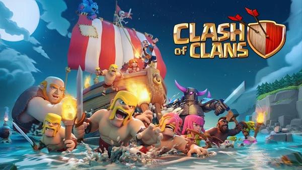 Clash Of Clans v9.105.5 Apk Mod [Coins, Elixir, Gems]