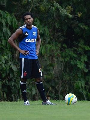 Luiz Antonio treino Flamengo (Foto: Pedro Martins/ Agência Estado)