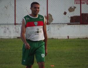 Marcinho, lateral-esquerdo do Alecrim (Foto: Tiago Menezes)