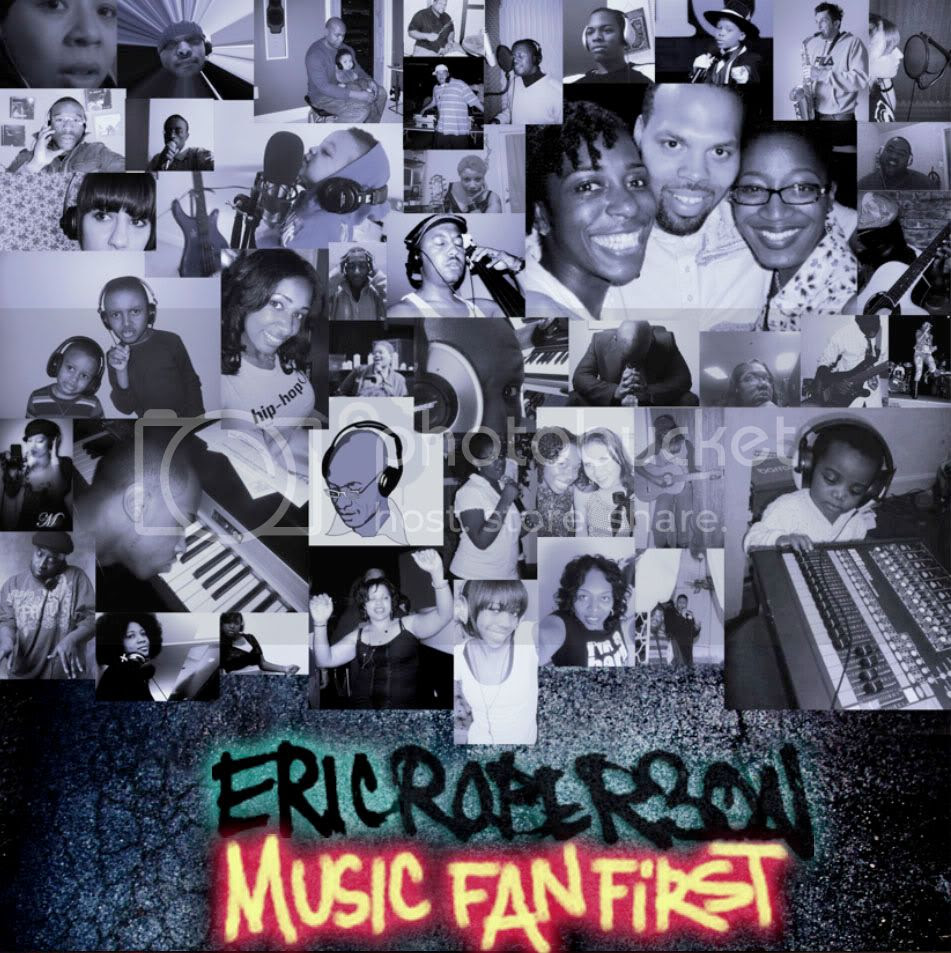 Music Fan First Album Artwork - Party People Vol. II