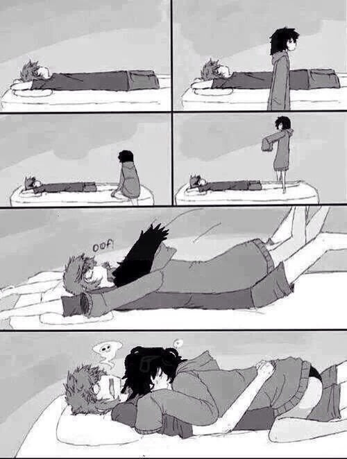 Couples sleeping together anime TATTOOED: Anime
