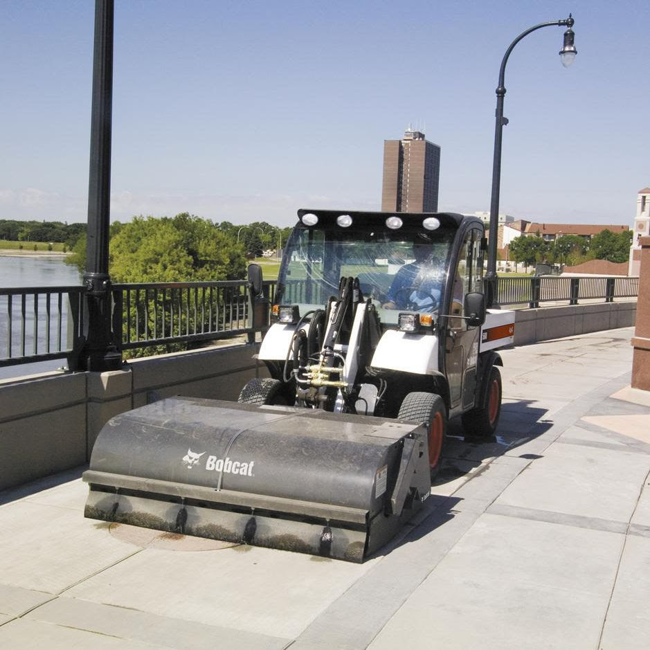 Loader Sweeping Machine Bobcat Videos