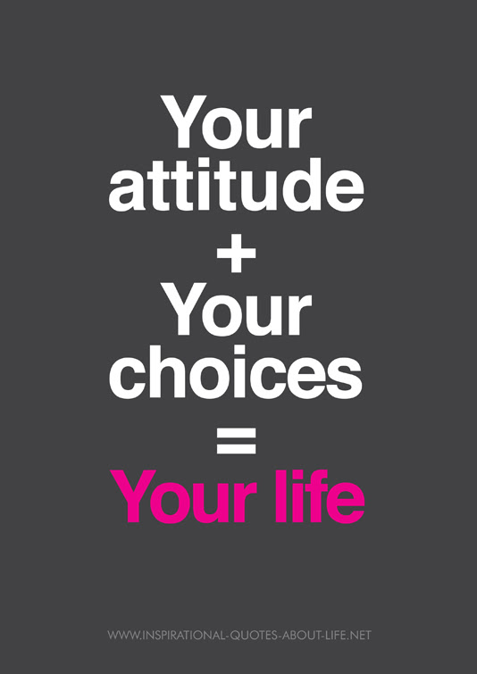 Attitude Inspirational Quotes About Life Happiness Life Changing