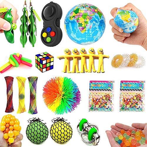 32 Pack Sensory Fidget Toys Set,Stress Relief Hand Toys ...