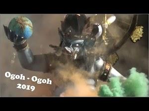 Parade Ogoh Ogoh 2019 di Puputan Badung