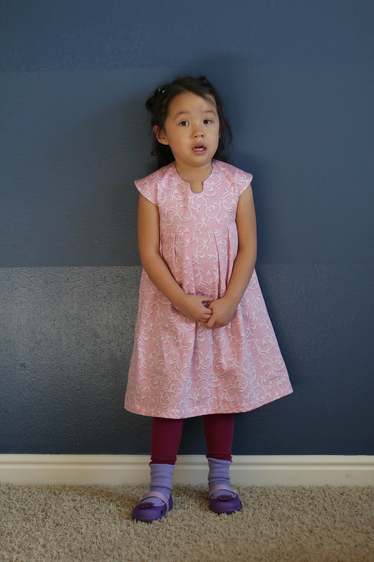 geranium dress (pattern by made by rae) by replicate then deviate