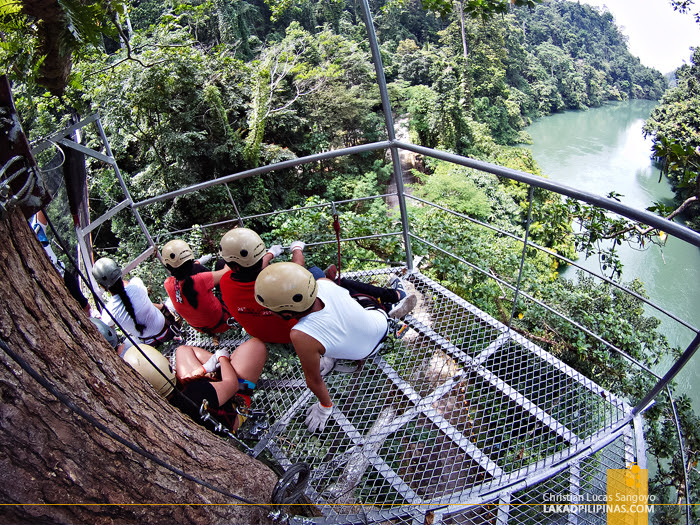 Tree Top Adventure at Iligan's NPC Nature's Park