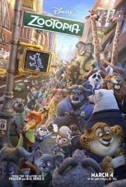 Disney's Zootopia Movie poster