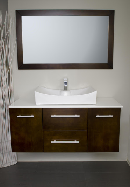 modernbathrooms.ca Vanity Style 3048 - modern - bathroom vanities ...