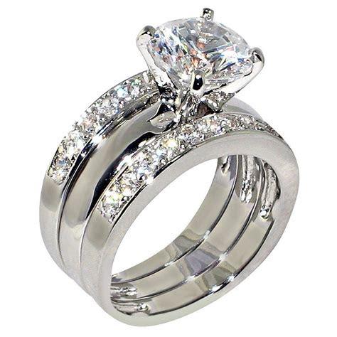 ct  cubic zirconia cz solitaire bridal