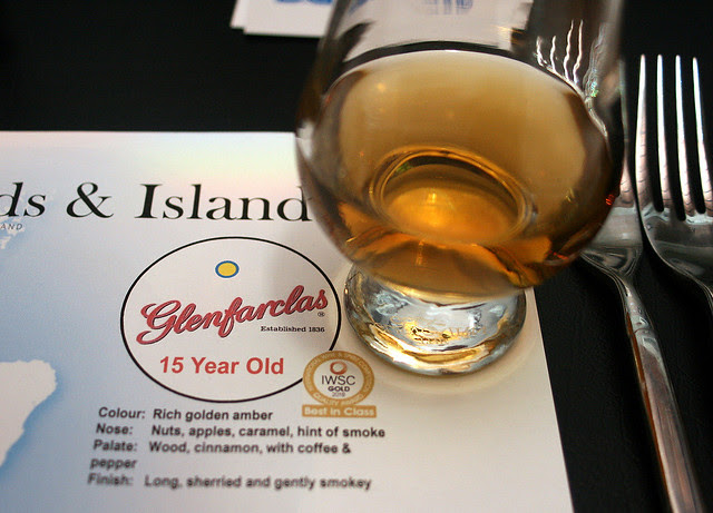 Glenfarclas 15-year-old whisky from Speyside