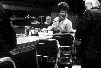 Pike Place Market - Waitress in diner
