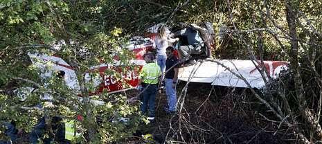 La avioneta estrellada en Barro sufrió una parada de motor en el aire