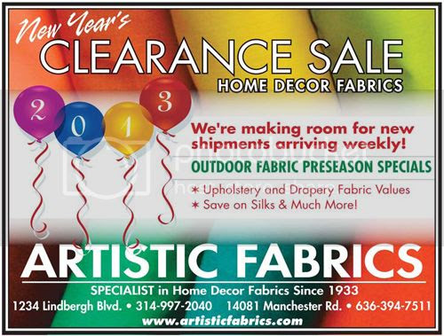 Home Decor Fabric CLEARANCE SALE! : Places