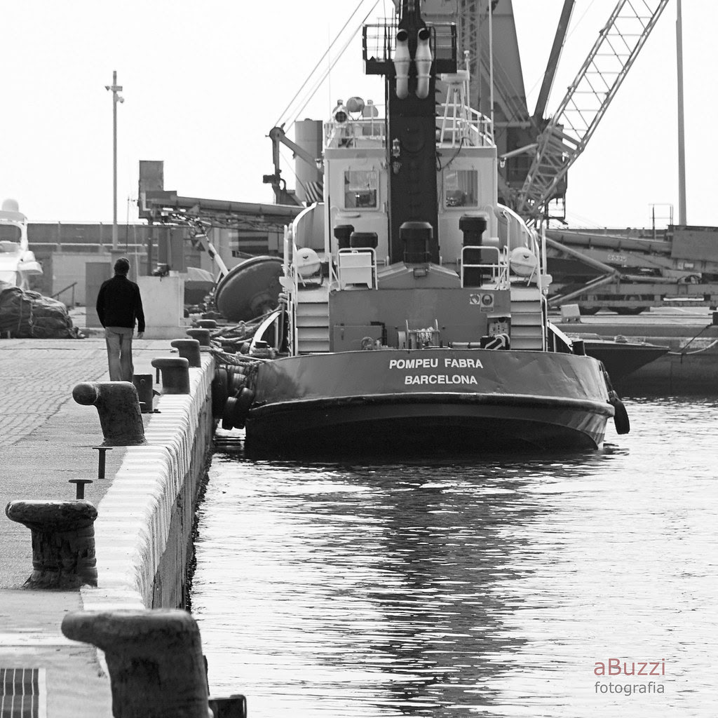 caminant pel port
