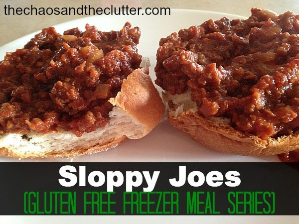 Crock Pot Sloppy Joes (gluten free)