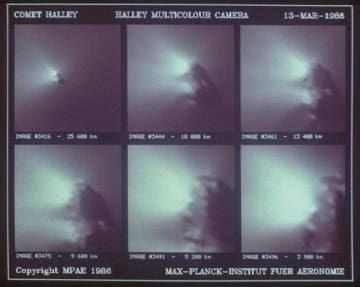 El Halley, en 1986.