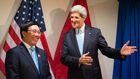 Phó Thủ tướng, Phạm Bình Minh, Ngoại trưởng Mỹ, Biển Đông, Trung Quốc, giàn khoan, Hải Dương 981