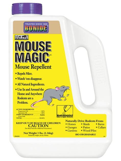 Mouse Repellent, Natural Mouse Repellent   Gardeners.com