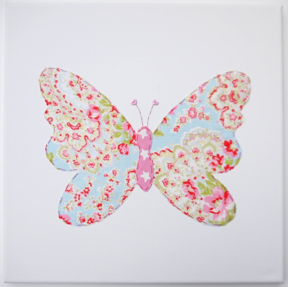 Popular items for butterfly canvas on Etsy