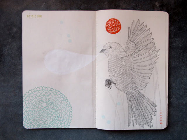 Sketchbook Project Page 1