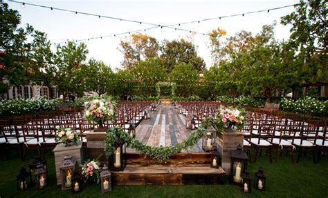 Bohemian, Outdoor Garden Wedding Ceremony   Rustic