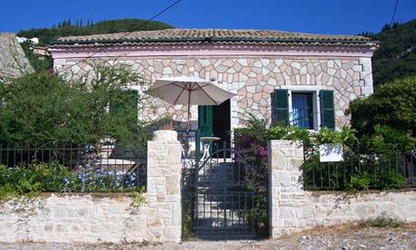 The Pink House Corfu
