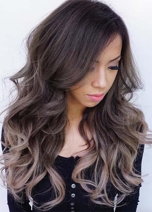 100 Dark Hair Colors: Black, Brown, Red, Dark Blonde Shades  Fashionisers