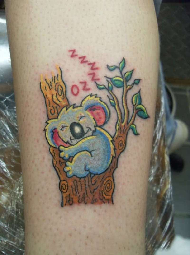 Cute Koala Bear Tattoo Design Tattoos Book 65000 Tattoos Designs