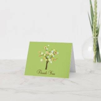 Thank You Card card