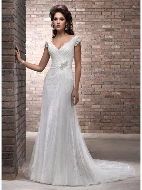 ivory wedding dresses for older brides   Wedding