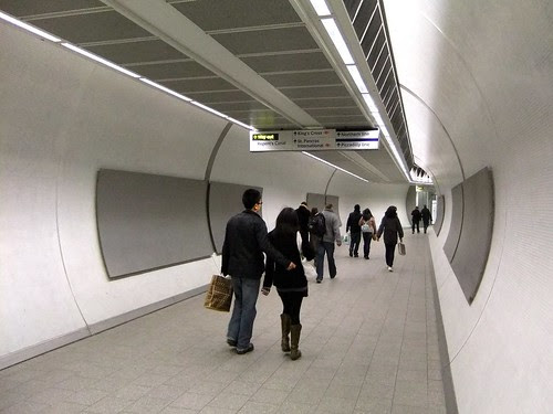 No advertising in the Underground by James Cridland