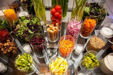 event salad bars   Google Search   Wedding Ideas