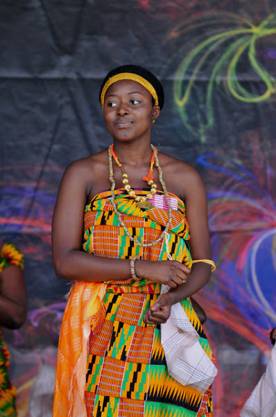 Adowa Dance in Kente