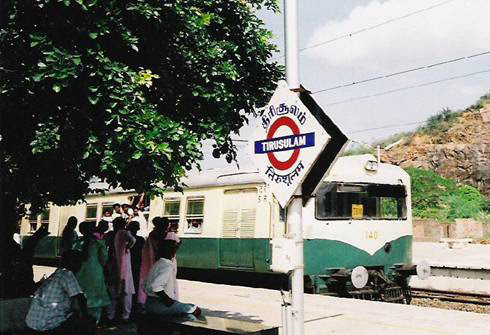 Chennai Metro - Tirusulam - India